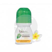 Desodorante De Alumbre Flor De Tiare Bio Biopha Organic