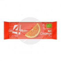 Barritas De Naranja y Chia Bio sin gluten Go 4 Raw