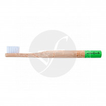 Cepillo dental de bambú niños verde Eco biodegradable Naturbrush