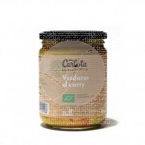 Verduras Al Curry Bio 425Gr Carlota Organic