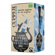 Te negro breakfast bio 20 bolsitas vegano sin azucar Cupper