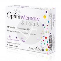 Memory & focus Sin Gluten 45 Capsulas Optim