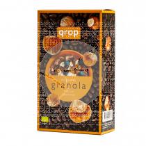 Granola de Cebada y avena con café y avellanas bio, veg Qrop