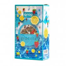 Granola de avena y espelta con limón y fresas Bio Veg Qrop