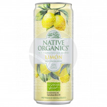 Refresco limon sin gas eco Sgluten Vegano 330ml Native Organics