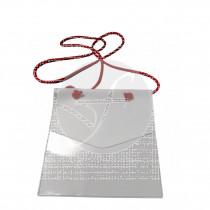 Portamascarillas funda blanca o transparente 100% Reciclable CNTD