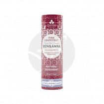 Desodorante Pink Graperfuit vegano 60gr Ben&Anna