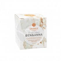 Dentifrico naranja tarro de cristal con fluor 100 ml Ben&Anna
