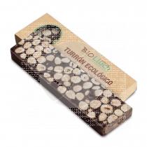 Turron de chocolate Bitter con Avellana Eco 200gr Bio Lluch