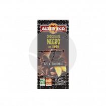 Chocolate negro Limón Bio 100gr Altereco