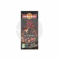 Chocoalte negro al Punto pimienta Bio 100gr Altereco