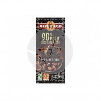 Chocolate negro de Peru 90% Bio 100gr Altereco