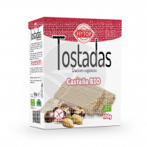 Tostadas de castaña bio Sin Gluten 100gr