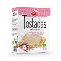Tostadas de Amaranto Bio Sin Gluten 100gr HY Top