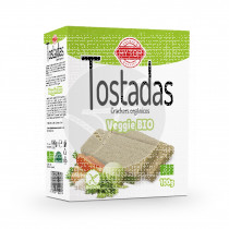 Tostadas veggie Bio Sin Gluten 100gr Hy Top