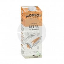 Bebida Vegetal De Avena Almendras Bio 1L Monsoy