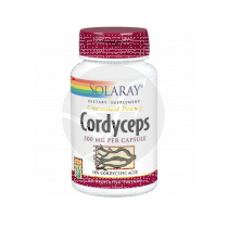 Cordyceps 520Mg 60 capsulas Solaray