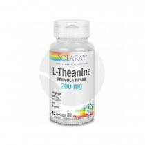 L-Theanine 200Mg 45 capsulas Solaray