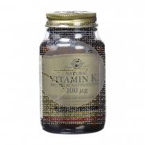 Vitamina K2 1000 Mcs capsulas Solgar