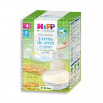 Papilla Crema De Arroz sin gluten Bio 4M Hipp