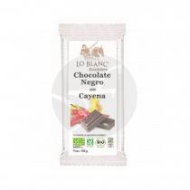 Chocolate Negro con Cayena Lo Blanc Xocolaters