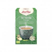 Té verde Energía Infusión Bio 17gr Yogi Tea