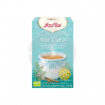 Voz Clara Infusión 17u Yogi Tea