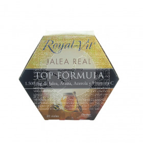 Royal Vit Top Fórmula Jalea Real 20 viales Dietisa