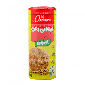 Galletas digestive Originales sin azucar añadido 190gr Santiveri