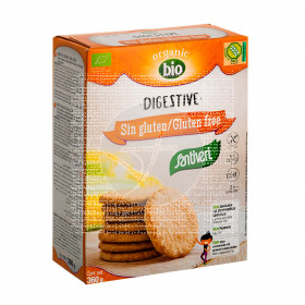Galletas Digestive sin gluten Bio Santiveri