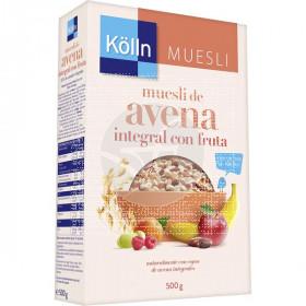 Muesli de Avena integral con Fruta 500g  Kolln
