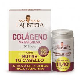 Pack Nutre tu Cabello sticks Ana Mª Lajusticia