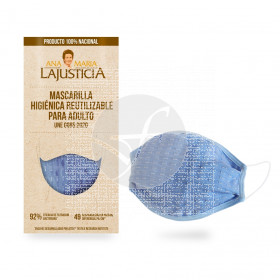 Mascarilla higiénica reutilizable Ana Maria Lajusticia
