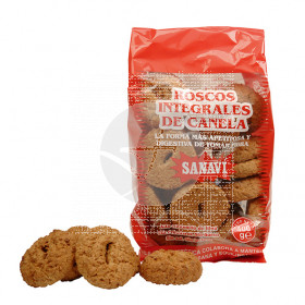 Roscos integrales De Canela 400Gr Sanavi