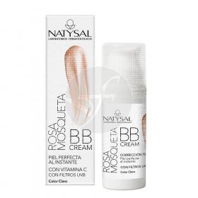 Bb Cream Rosa Mosqueta Spf20 color Claro Natysal