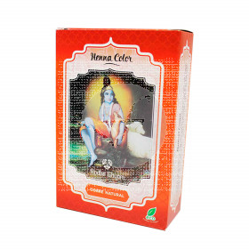 Henna tinte natural cobre 100gr en polvo spiritual Radhe Shyam