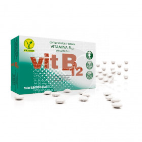 Vitamina B12 Retard De Soria Natural
