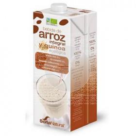 Bebida Vegetal De Arroz integral y Quinoa Eco Soria Natural