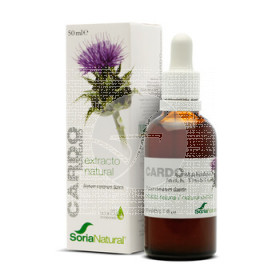 EXTRACTO NATURAL CARDO MARIANO VEGETAL 50ML SORIA NATURAL