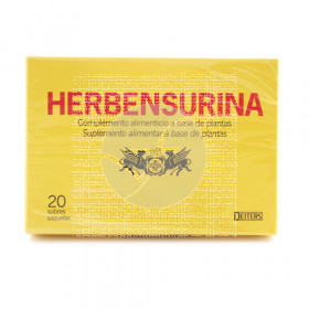 HERBENSURINA INFUNSION 20 SOBRES DEITERS