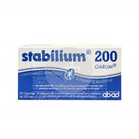 Stabilium cansancio y estrés 30 cápsulas Abad