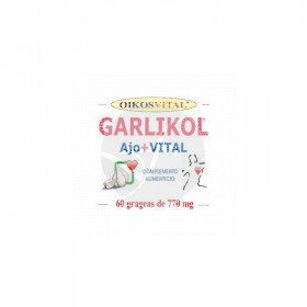 Garlikol Ajo Vital 60 perlas Oikos