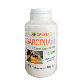 Garcinia Plus 550Mg 180 capsulas Oikos