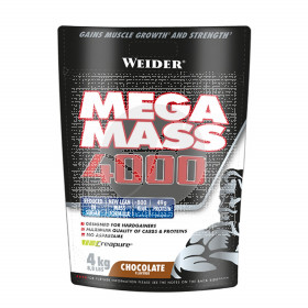 Mega Mass 4000 chocolate 4 KG Weider