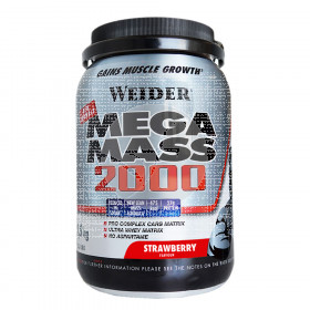 Mega Mass 2000 Fresa 1.5 KG Weider