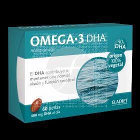 Omega 3 Dha 60 perlas Eladiet