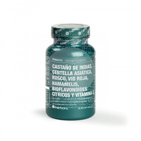 Herboactiv Castaño De Indias Centella Rusco y Vit C Herbora