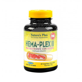 Hema plex II hierro Nature´s Plus