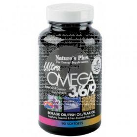 Ultra Omega 3 6 9 control Colesterol 90 perlas Nature'S Plus