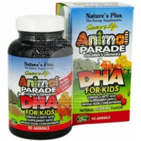 Animal parade DHA 90 comprimidos masticables Nature's Plus